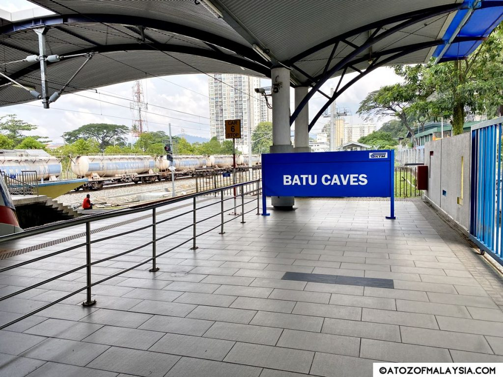 Batu Caves KTM station