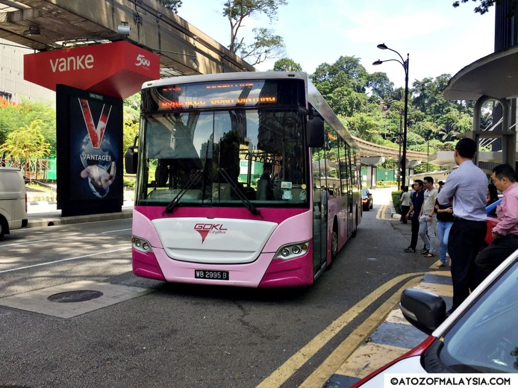 GOKL Bus in Kuala Lumpur