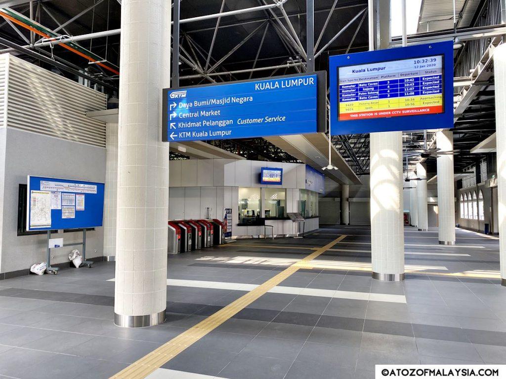 KTM Kuala Lumpur Train Station