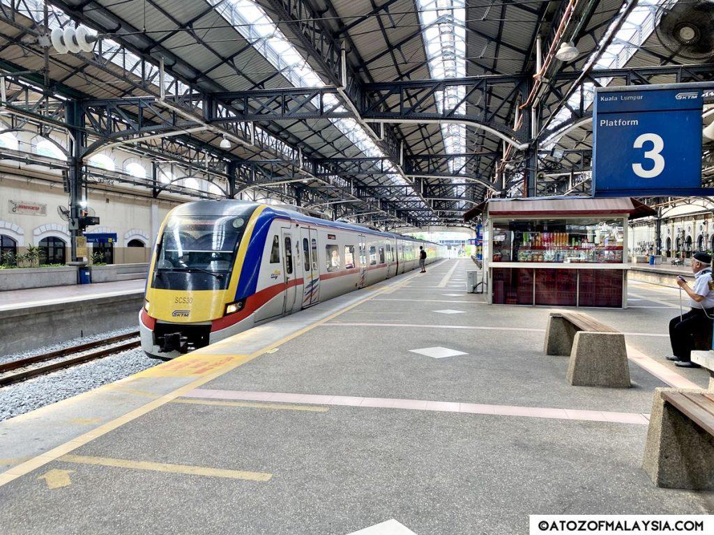 KTM Train at Kuala Lumpur station