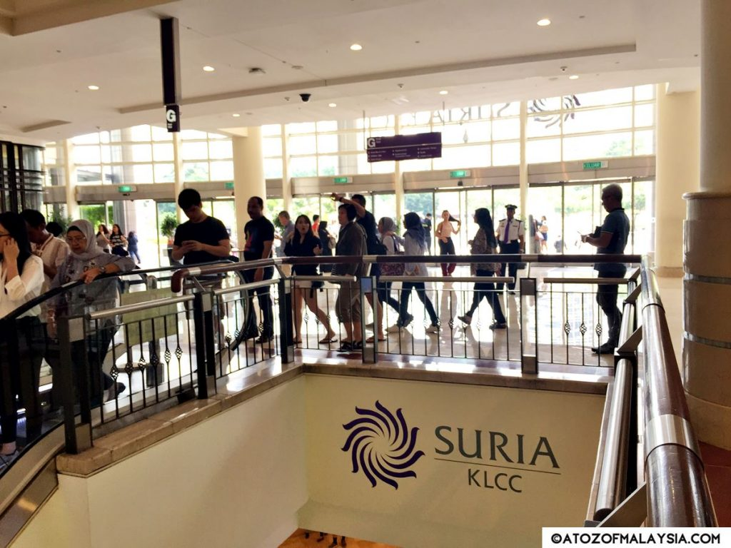 Suria KLCC Ground Floor KLCC Park Exit