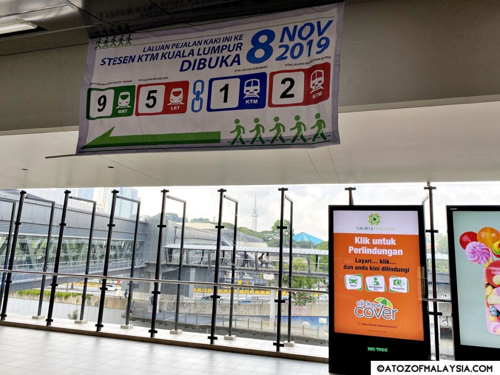 direction to KTM Kuala Lumpur Station